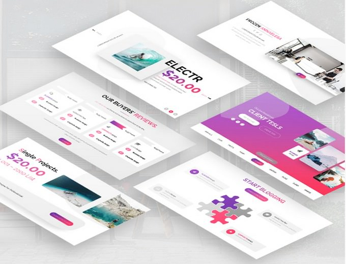 Merveille Creative Keynote Template