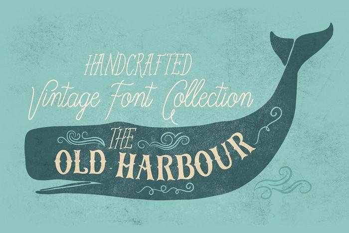 Old Harbour font