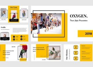 Oxygen Google Slides Presentation