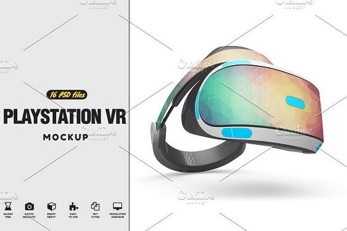 PlayStation VR MockUp