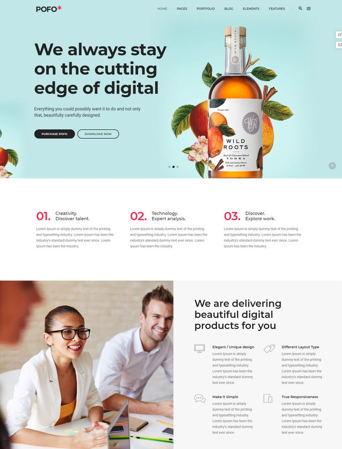Pofo - Digital Agency Template