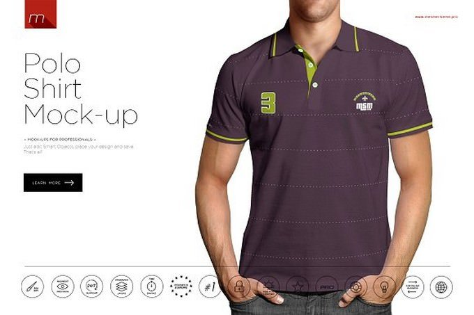 Polo Shirt Mock-up # 3