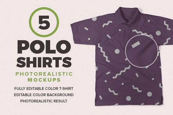Polo Shirts Mockups