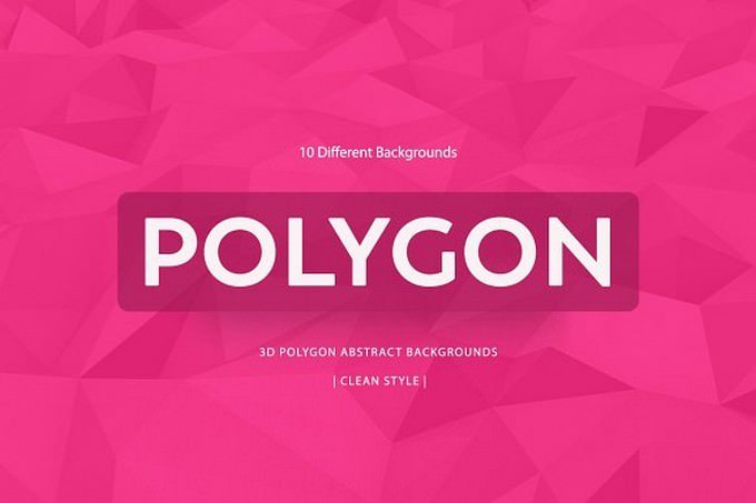 Polygon Colorful Backgrounds v7