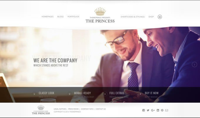 Princess - WordPress Theme