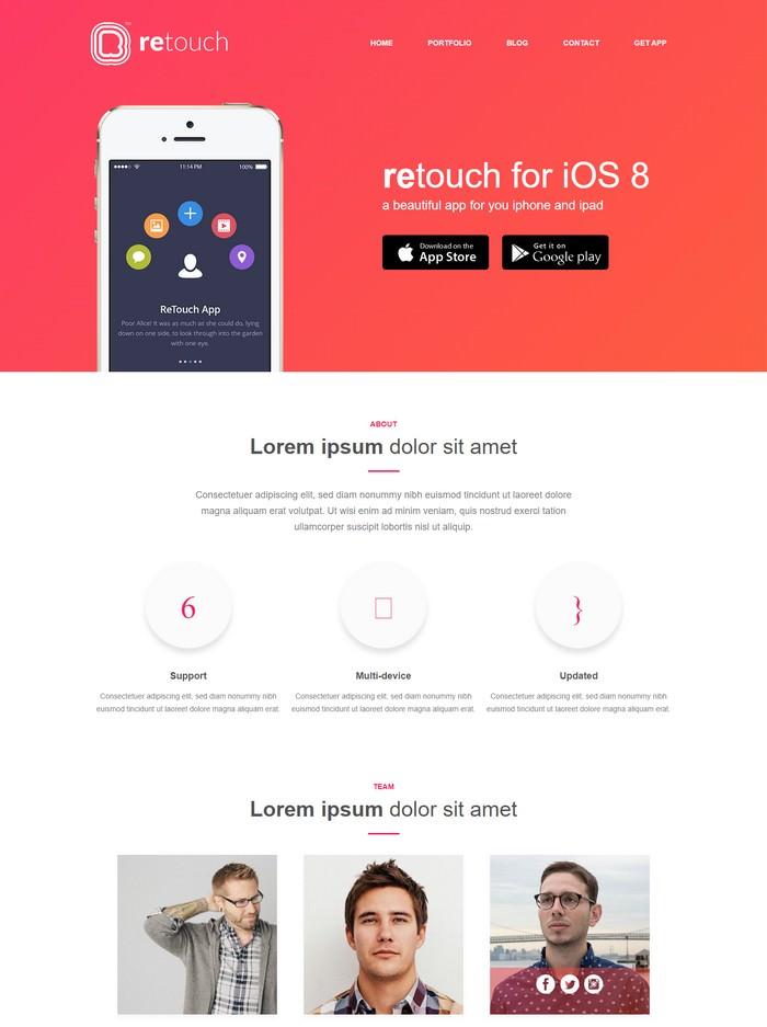 ReTouch App