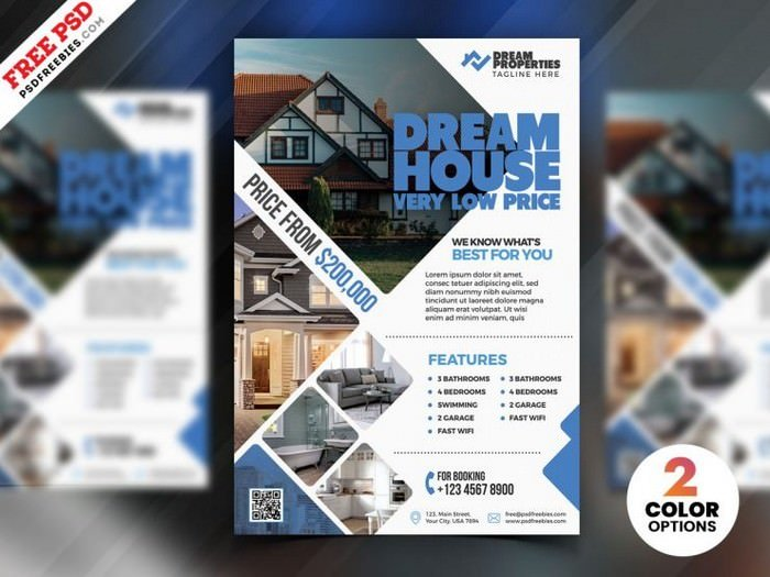 Real Estate Flyer Templates Psd And Ai