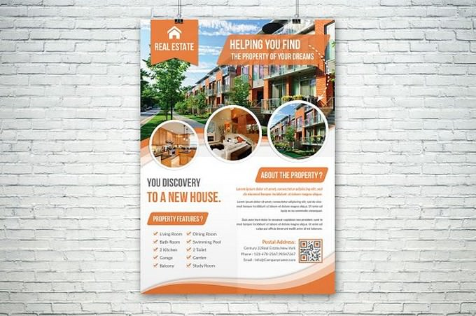 Real Estate Flyer (Helping You Found)