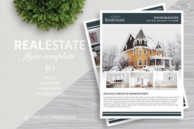 Real Estate Flyer Template No.9