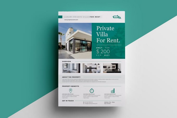 Real Estate Rent Flyer