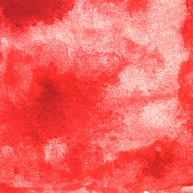 Red Water Color Background Texture