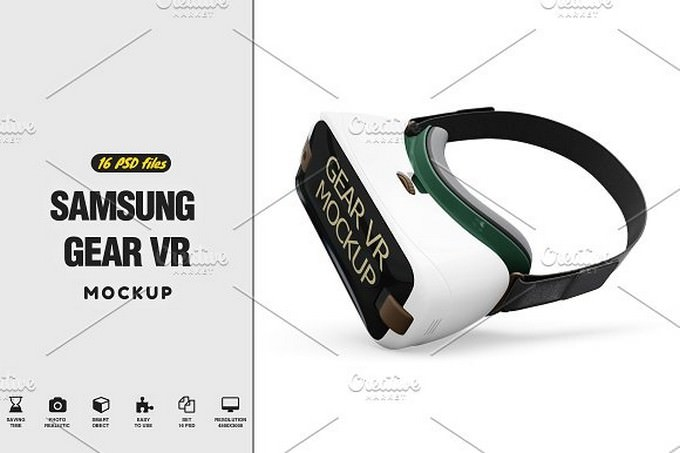 Samsung Gear VR MockUp