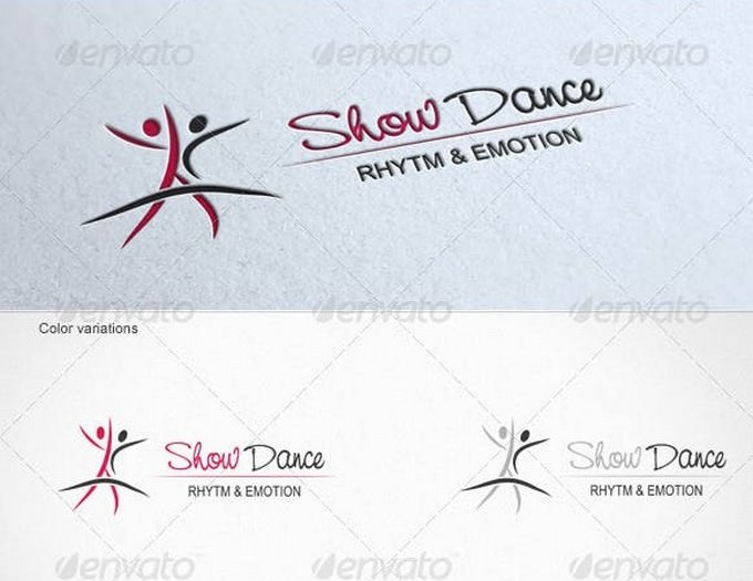 Show Dance - Logo Template