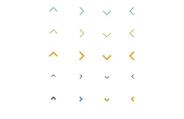 Simple CSS Arrows