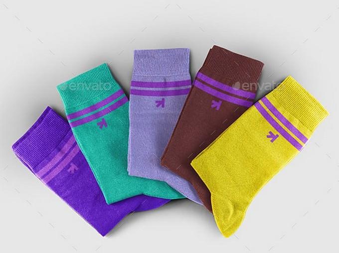 Socks Set Mockup