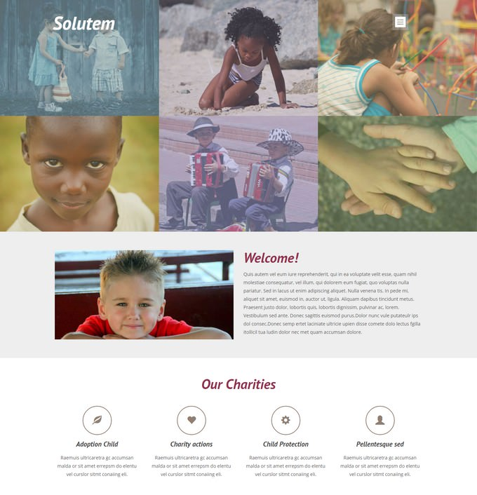 Solutem Responsive Website Template