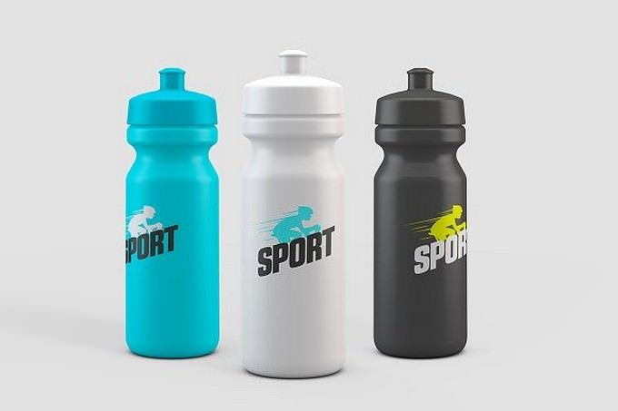 Sport Water Bottle Mock-Up