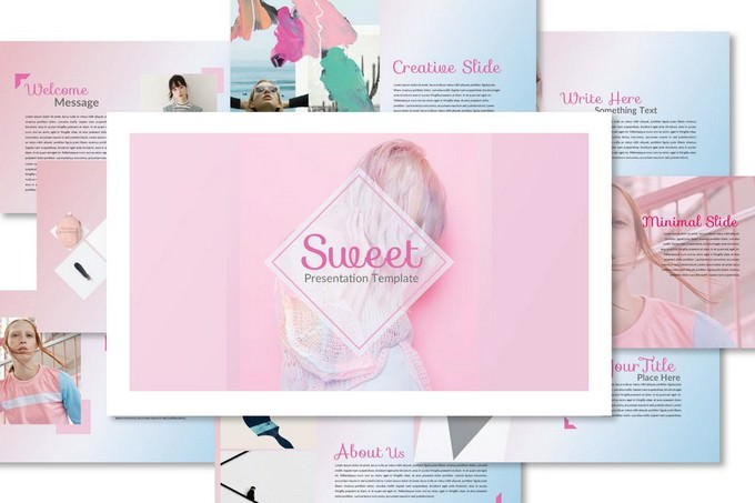 Sweet Keynote Template
