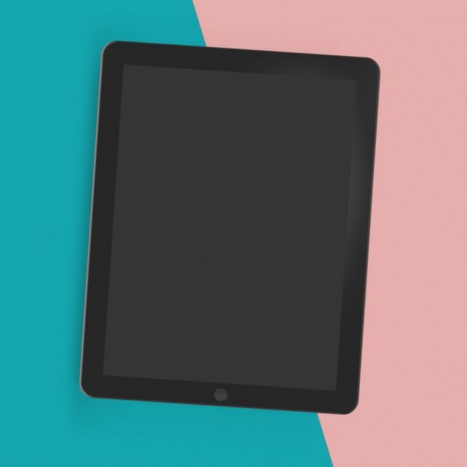 Tablet Mock-up Template