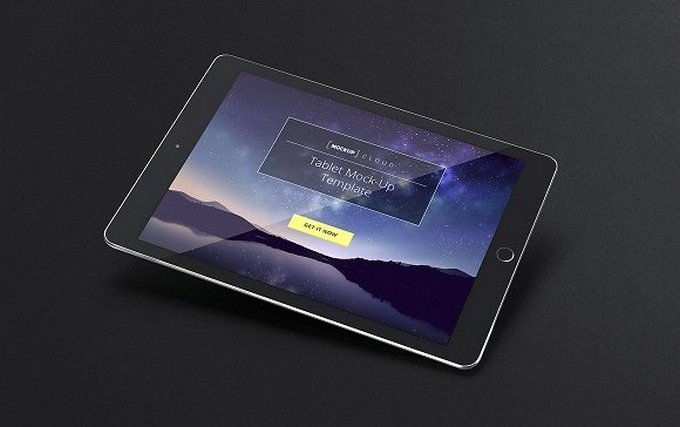 Tablet iPad Mock-Up Set