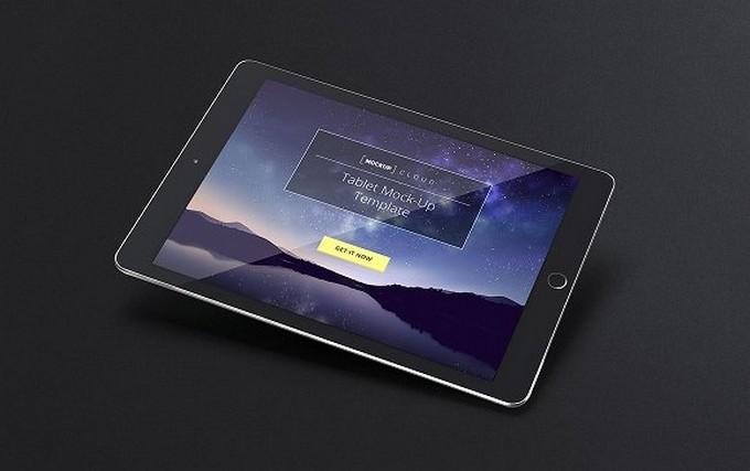 Tablet iPad Mock-Up Set