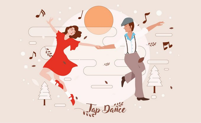 Tap Dance Vector Logo