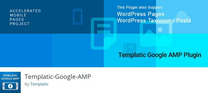 Templatic Google AMP