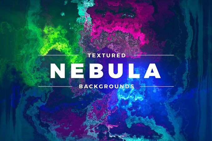 Textured Nebula Backgrounds