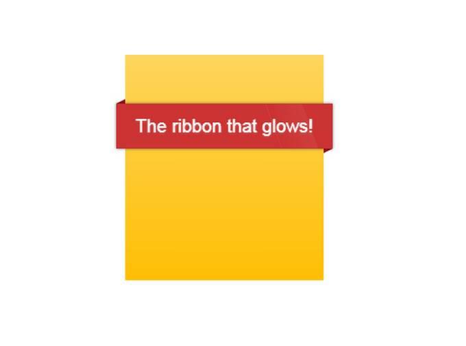 The Glow Ribbon