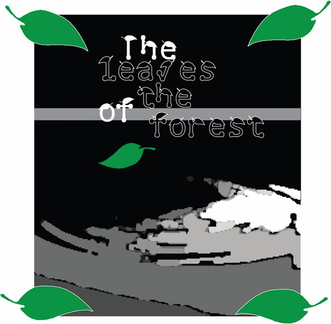 The Leaves of The Forest Sticker Font