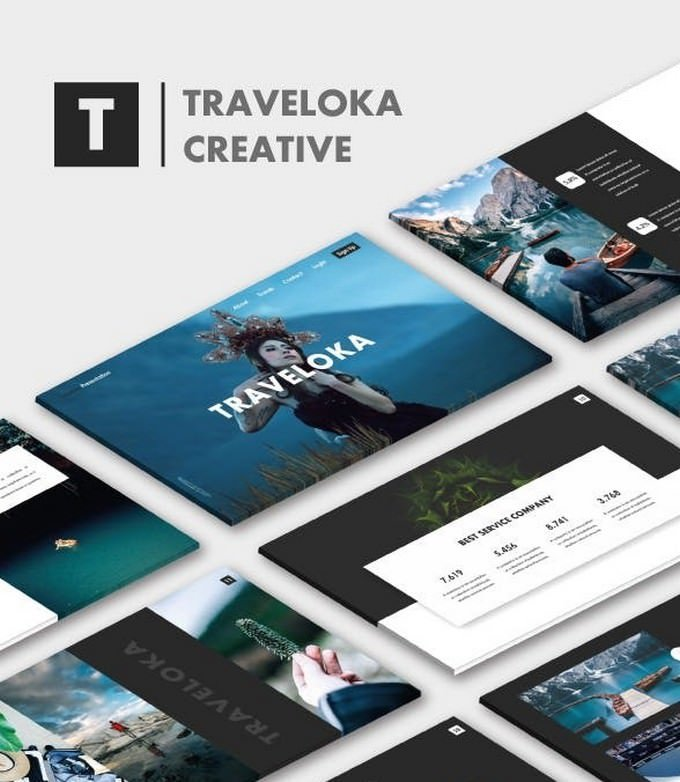 Traveloka Google Slide Templates