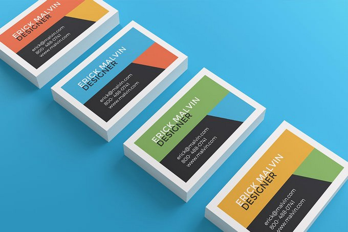 UK Business Cards Mock-up's