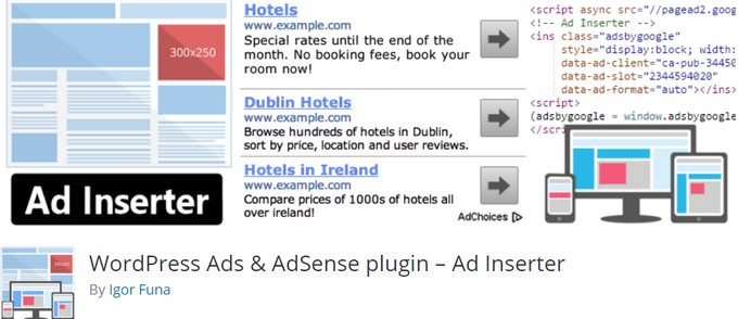 WordPress Ads & AdSense plugin – Ad Inserter