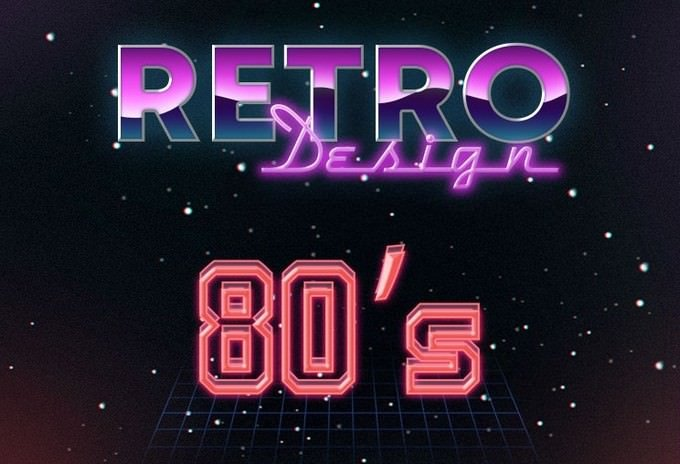 Free 80S Text Effects