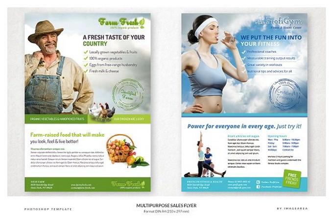 6 Multipurpose Sales Flyer