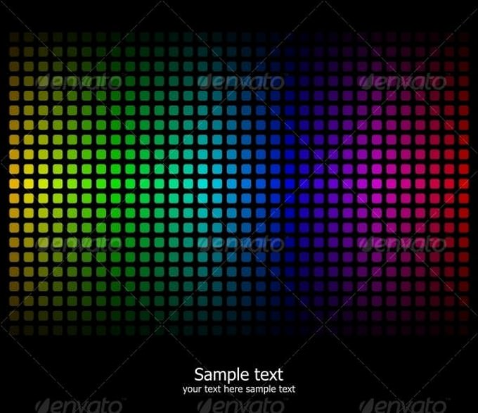 Abstract Rainbow Colour Background