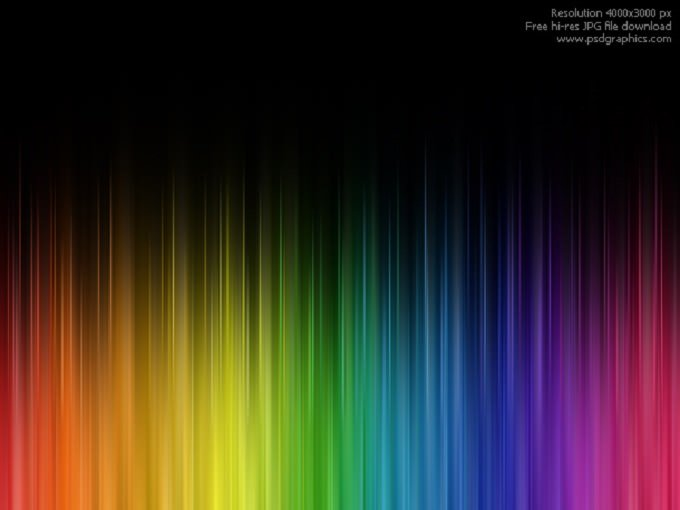 Abstract rainbow colors Backgrounds
