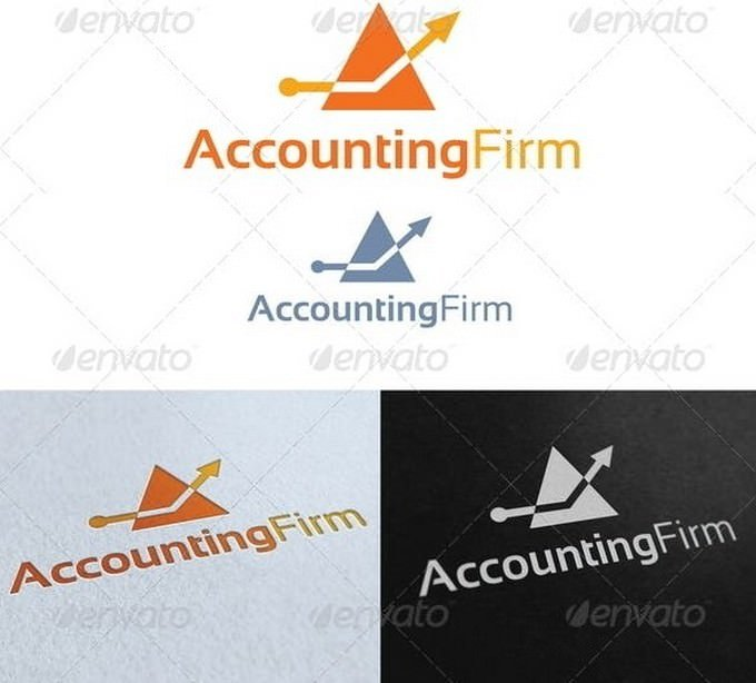 Accounting Firm Logo Template