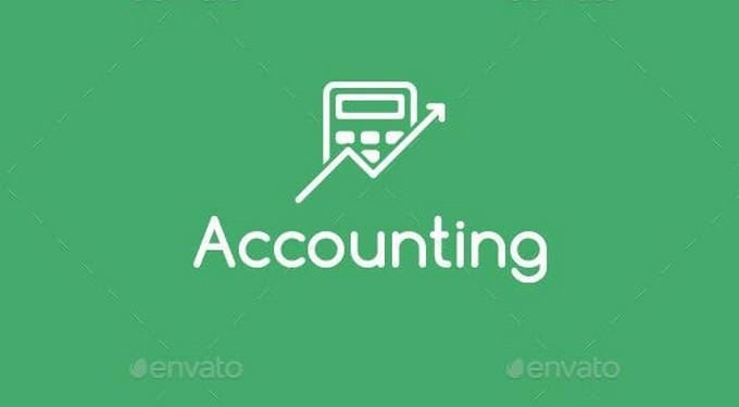 Accounting Logo (Black-white Version)