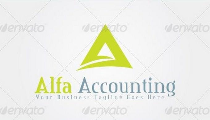 Alfa Accounting Logo Template