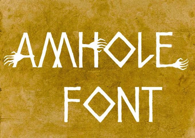 Amhole Font
