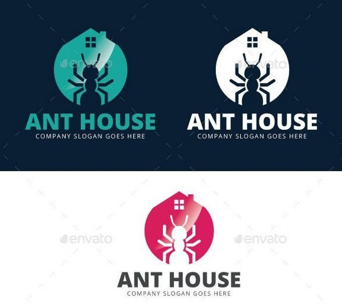 Ant House Logo