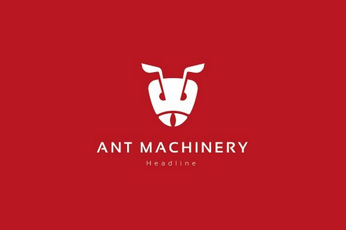 Ant machinery Logo