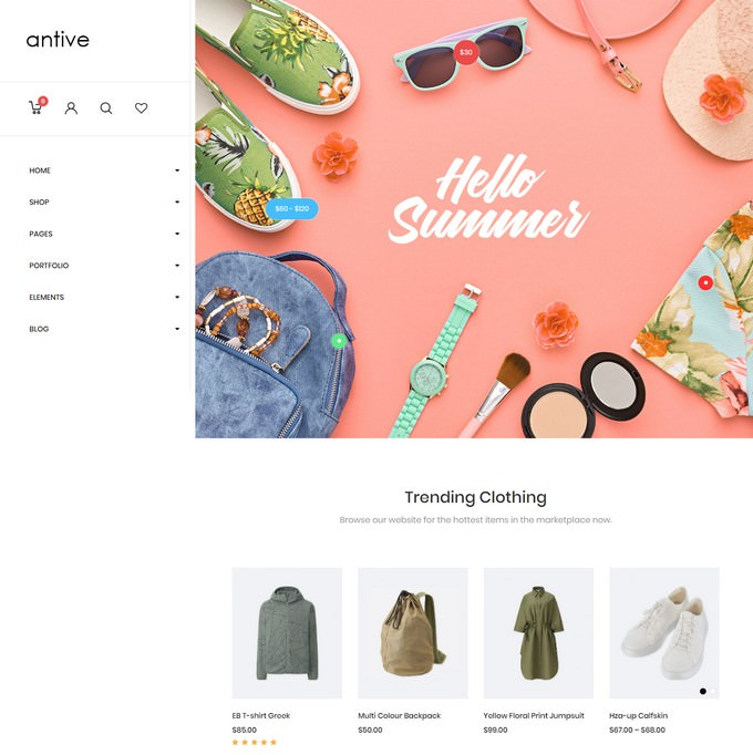 Antive - Minimal and Modern WooCommerce AJAX Theme