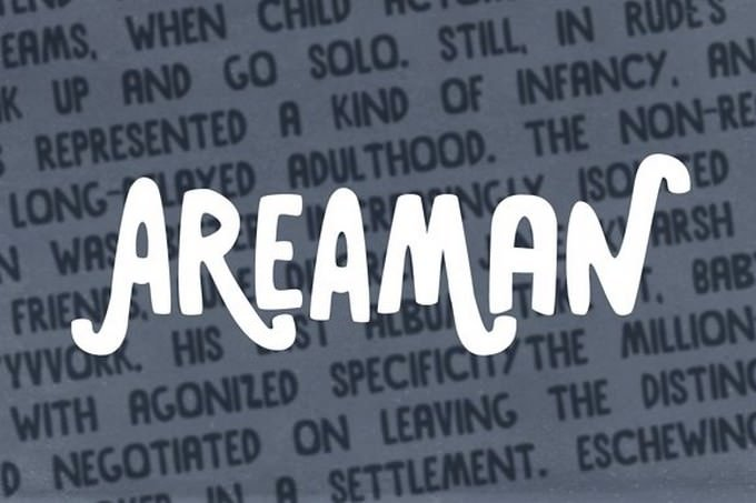 Areaman font