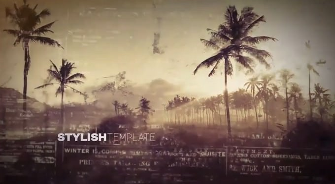 Artistic Parallax– After Effects Slideshow Template