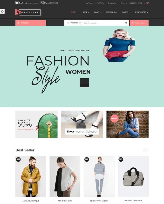 Assyrian - Responsive Fashion WordPress Theme