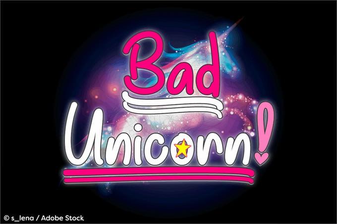 Bad Unicorn Demo Font