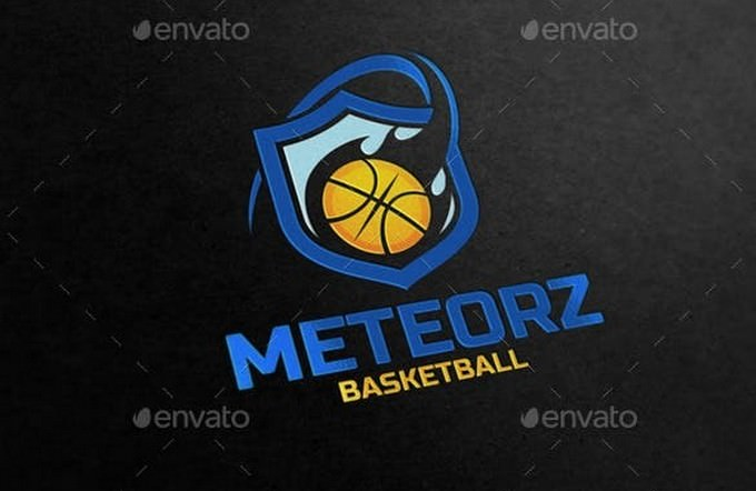 Basketball 1 Logo template