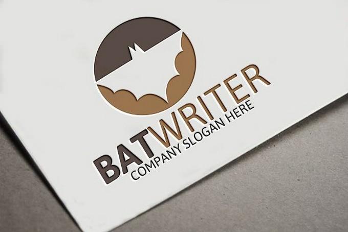 Bat Writer Logo # 2